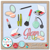 Glam It Up Cutting Files