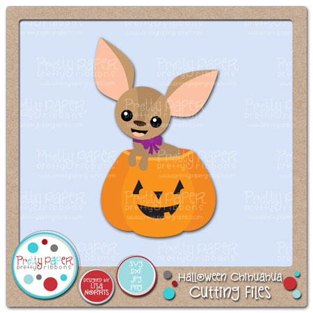 Halloween Chihuahua Cutting Files