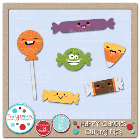 Happy Candies Cutting Files