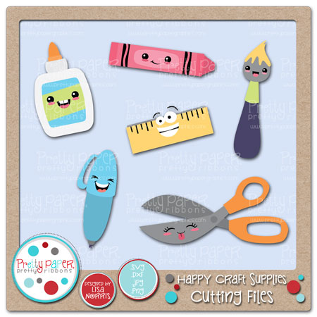 Happy Craft Supplies Cutting Files