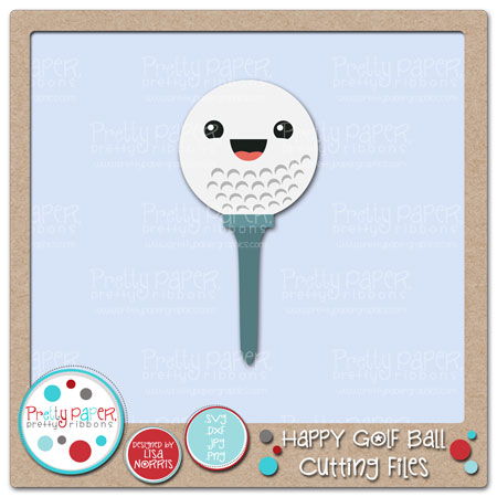 Happy Golf Ball Cutting Files