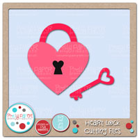 Heart Lock Cutting Files