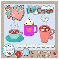 Hot Cocoa Cutting Files