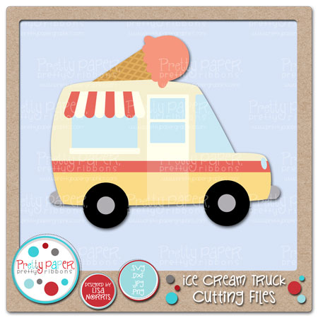 Ice Cream Truck Cutting Files