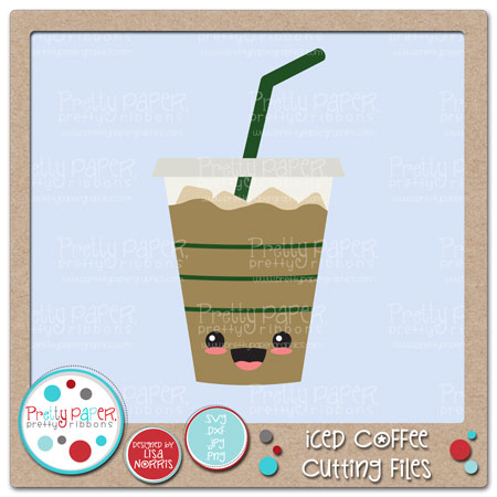 Iced Coffee Cutting Files