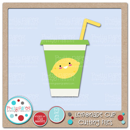 Lemonade Cup Cutting Files