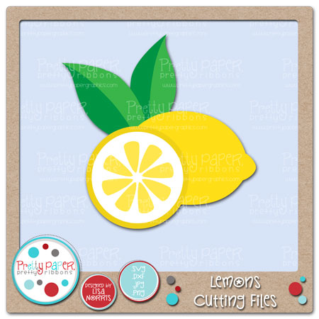 Lemons Cutting Files
