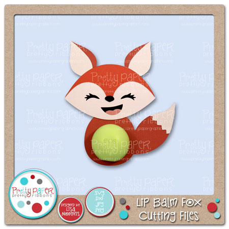 Lip Balm Fox Cutting Files
