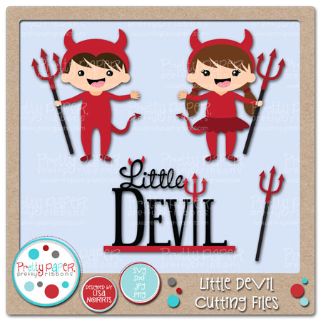 Little Devil Cutting Files