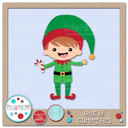 Little Elf Cutting Files