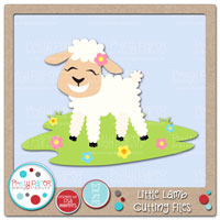 Little Lamb Cutting Files