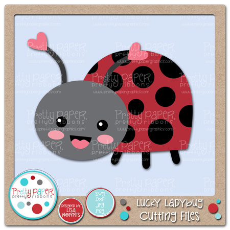 Lucky Ladybug Cutting Files