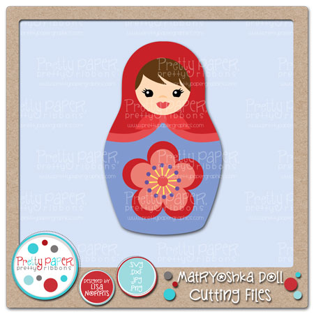 Matryoshka Doll Cutting Files