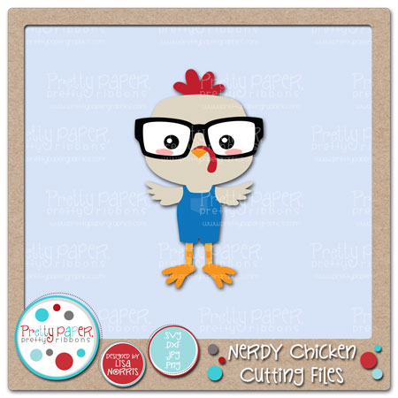 Nerdy Chicken Cutting Files