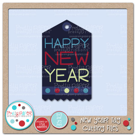 New Year Tag Cutting Files