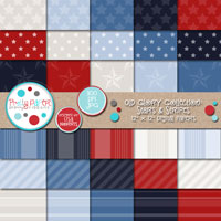 Old Glory Stars & Stripes Paper Pack