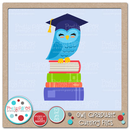 Owl Graduate Cutting Files