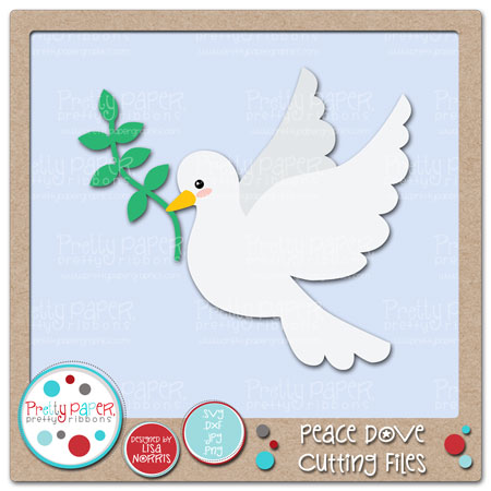 Peace Dove Cutting Files