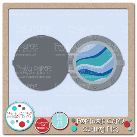 Porthole Card Cutting Files