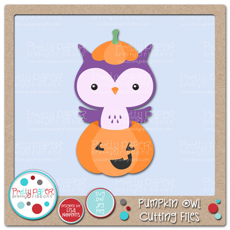 Pumpkin Owl Cutting Files