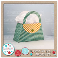 Purse Gift Bag Cutting Files