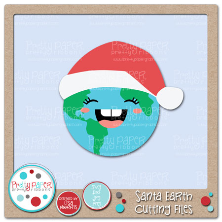 Santa Earth Cutting Files