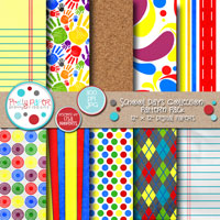 School Days Pattern Pack