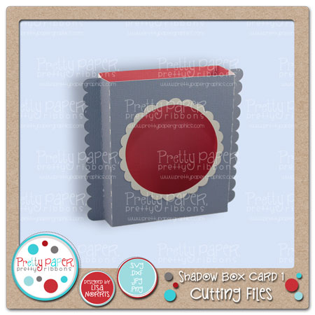 Shadow Box Card 1 Cutting Files