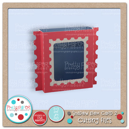 Shadow Box Card 2 Cutting Files