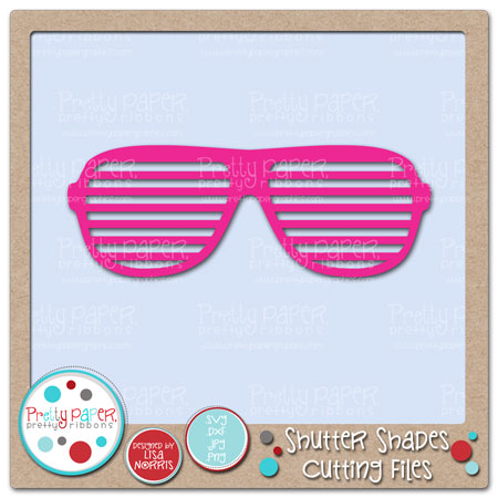 Shutter Shades Cutting Files