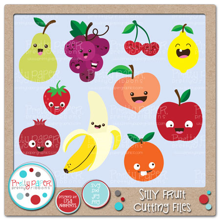 Silly Fruit Cutting Files
