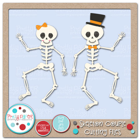 Skeleton Couple Cutting Files