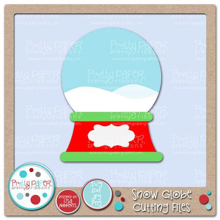Snow Globe Cutting Files