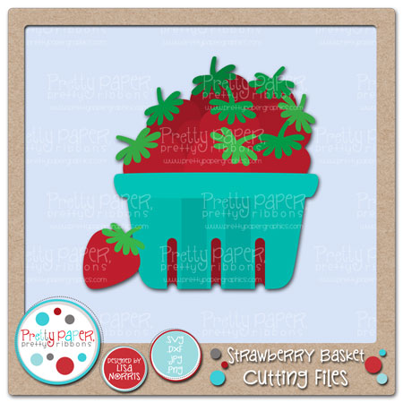 Strawberry Basket Cutting Files