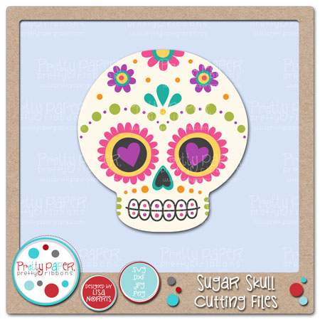 Sugar Skull Cutting Files