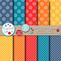 Summer Brights Circles & Spots