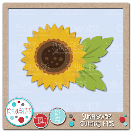 Sunflower Cutting Files