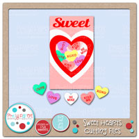 Sweet Hearts Cutting Files