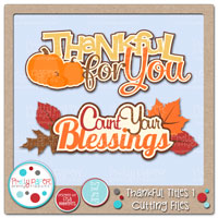 Thankful Titles 1 Cutting Files