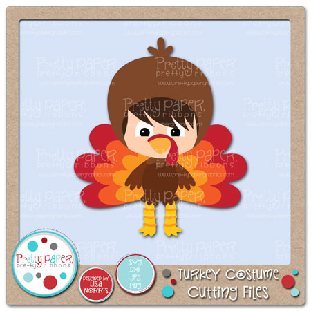 Turkey Costume Cutting Files