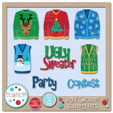 Ugly Sweaters Cutting Files
