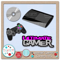 Ultimate Gamer Cutting Files