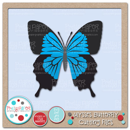 Ulysses Butterfly Cutting Files