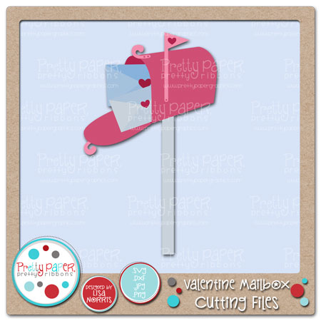Valentine Mailbox Cutting Files