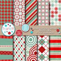 Vintage Christmas Pattern Pack