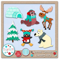 Winter Critters Cutting Files