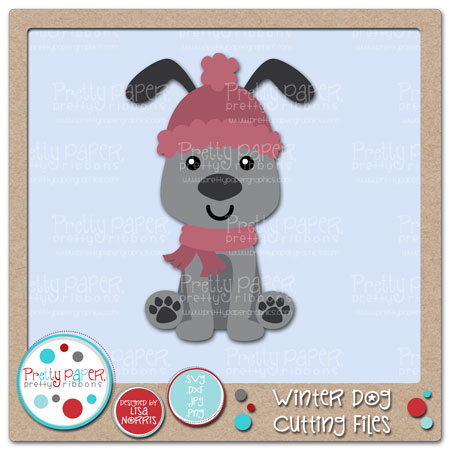 Winter Dog Cutting Files
