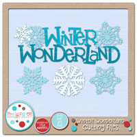 Winter Wonderland Cutting Files