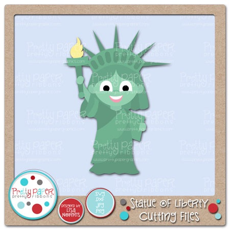Statue of Liberty Cutting Files